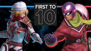 Void's Sheik VS. Fatality's Falcon - FIRST-TO-TEN