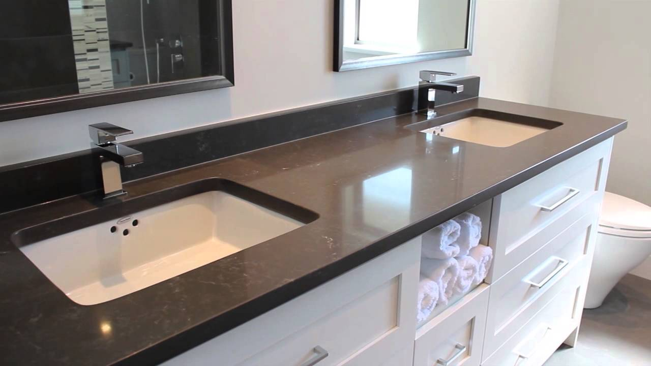 Before & After - Bathroom Renovation Project - North Vancouver Renovation Company