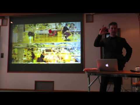 Keynote von WIRED UK-Chefredakteur David Rowan beim The Near Future Summit 2016
