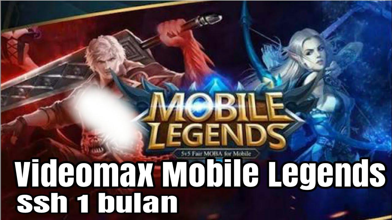 Config Videomax Mobile Legends Free Ssh 1 Month Full Kpn Rev Youtube