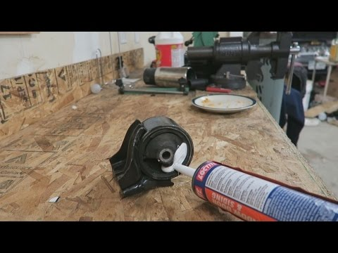 How to make diy polyurethane engine mounts doovi for How to make polyurethane motor mounts
