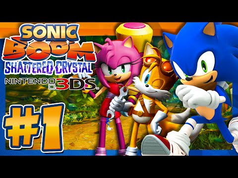Sonic Boom Shattered Crystal 3DS (1080p) - Part 1 & Giveaway