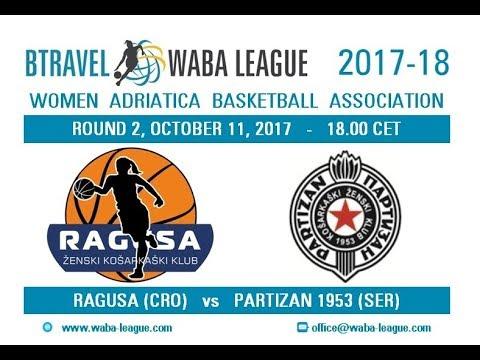 MZRKL Adriatica Women Basketball League, Ragusa - Partizan