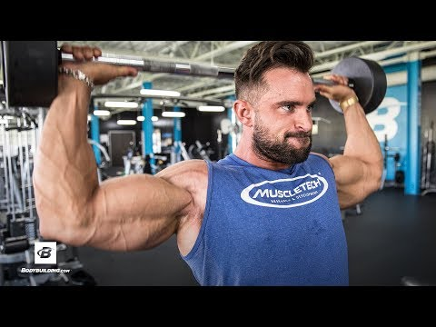 Pre-Photoshoot Shoulder & Arm Workout | Dylan Thomas thumbnail