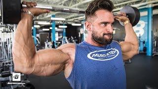 Pre-Photoshoot Shoulder & Arm Workout | Dylan Thomas