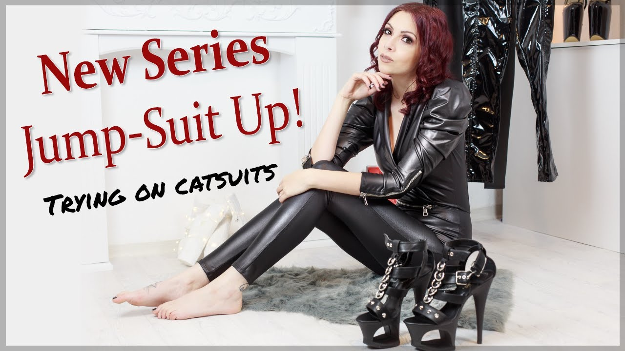 JumpSuit Up! Review & Try-On No.1: Softleather/Wetlook Overall by Mexton