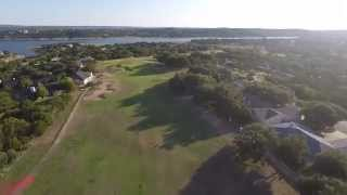 Highland Lakes Golf Course Old Back Nine Windy Day Lago Vista