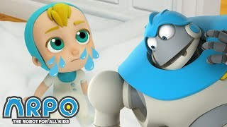 Arpo the Robot | SNOW IS EVERYWHERE IN THE HOUSE! | Funny Cartoons for Kids | Arpo and Daniel