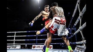 86kg K-1 Kickboxing 8 Man Quarter Final : Ash Solly vs Edwin Samy