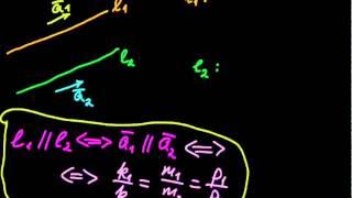 §58 Условие параллельности прямых в пространстве