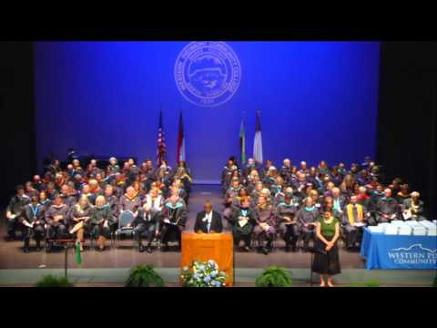 Western Piedmont Community College 2016 Afternoon Graduation Ceremony