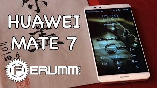 Huawei Mate 7 видеообзор. Полноценный обзор смартфона Huawei Mate7 от FERUMM.COM