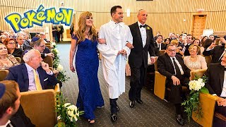 WALKING DOWN THE AISLE TO THE POKEMON THEME SONG AT MY WEDDING!