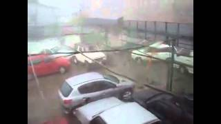 tornado in villarrica chile june 8th 2011 up close video
