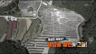 [풀영상] KBS 추적60분_환상의 재테크? 태양광 발전의 그늘!_20190614