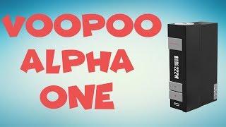VooPoo Alpha One - Fajny box dla każdego ?