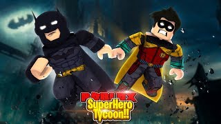 ROBLOX - BATMAN & ROBIN IN 2 PLAYER SUPERHERO TYCOON!!