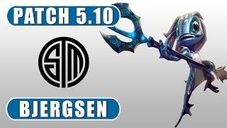 Bjergsen vs DoubleLift | Fizz vs Orianna | Mid | June 2nd, 2015 | Season5 | Patch 5.10
