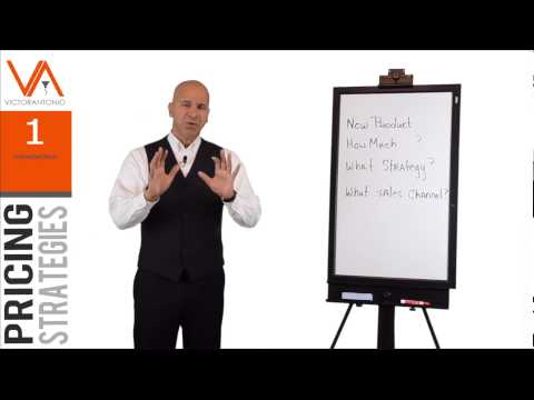 Pricing Strategies Series - How To Price Your Product Or Service - Sales Training Course (1/10)