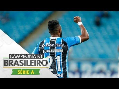 Melhores Momentos - Grêmio 2 x 0 Coritiba - Campeonato Brasileiro (22/06/2017)