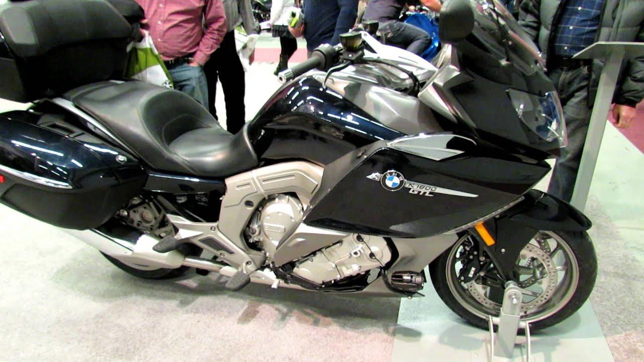 2012 bmw k1600gtl at 2012 montreal motorcycle show salon - Salon de moto montreal ...