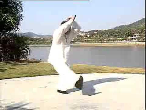 猿功拳十二趟实打   羊撞金剪 鸡形扑手 哪吒倒蹬风火轮 Yuan Gong Quan Shi er Tang Shi Da   Yang Zhuang Jin jian Ji Xing Pu Sho