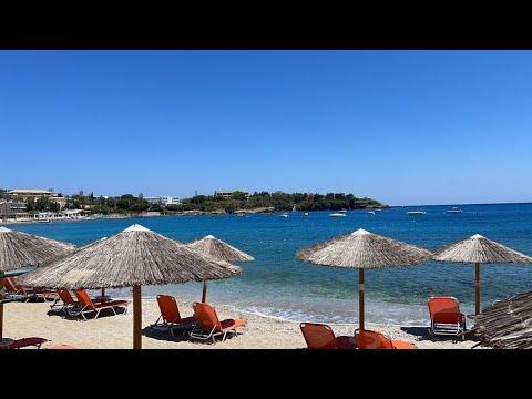 Private Beach on Crete in Greece