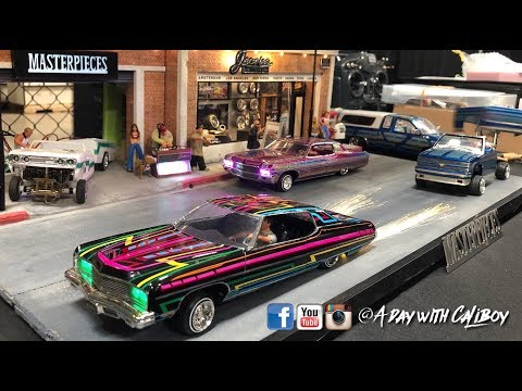 LOWRIDER Model Car and Bike show