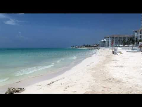 The Beach in Playa Del Carmen Mexico 30 Min HD Relaxation Ambient Video Wall Art Clip