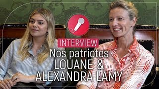 [Interview] Nos Patriotes : Alexandra Lamy et Louane Emera donnent leur ressenti sur le film