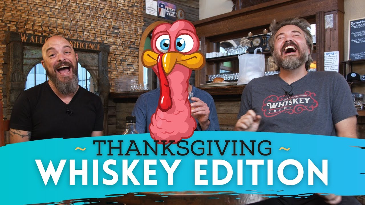 I can't believe he actually cooked us a whisky feast! (Thanksgiving Whiskey Pairing)