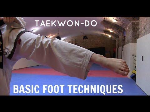 Taekwon-do | Basic Foot Techniques 🥋