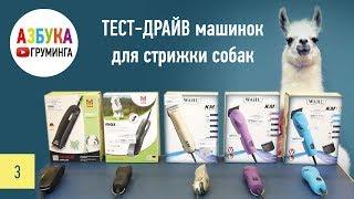 видео Какую купить машинку для стрижки животных