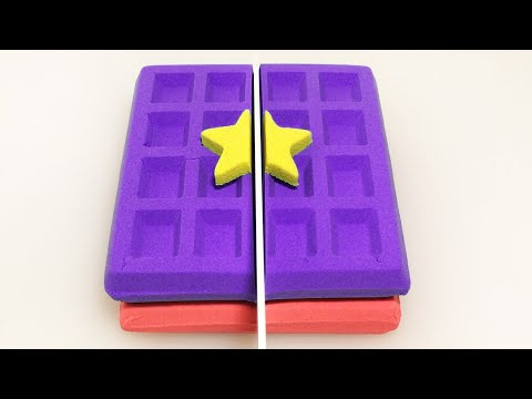 Very Satisfying and Relaxing Compilation 163 Kinetic Sand ASMR