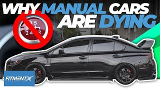 Why Manual Cars Are Dying...