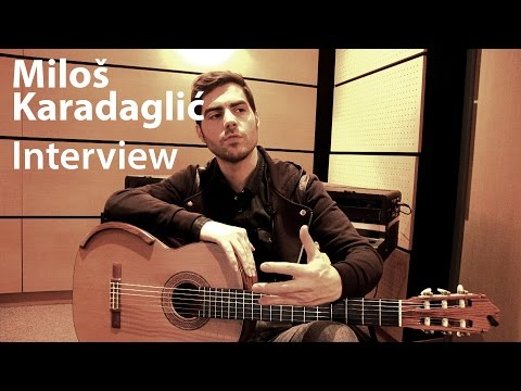 Miloš Karadaglić - Interview
