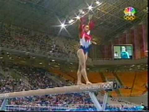 Courtney Kupets 2004 Olympics Qualifications Balance Beam (USA)