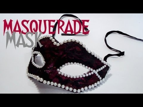 DIY Venetian Masquerade Mask How To Decorate Mask Tutorial Magnificent How To Decorate A Mask