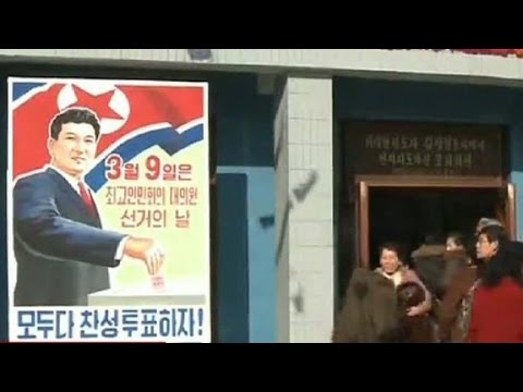 Failure to vote considered treason in North Korea