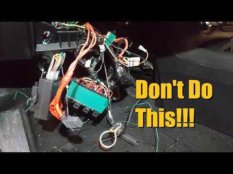 How Not to do Car Audio Episode 14