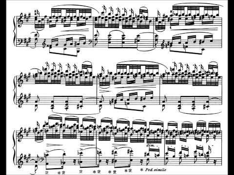Liszt: Transcendental Etude No.5, Feux Follets (Kissin)