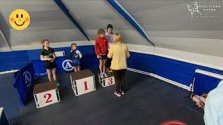 Девушки финал и награждение. Малое Видное. Турнир по настольному теннису 2008 год и моложе.