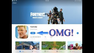 HOW TO DOWNLOAD FORTNITE BATTLE ROYALE ON MOBILE *NOT CLICKBAIT!! *