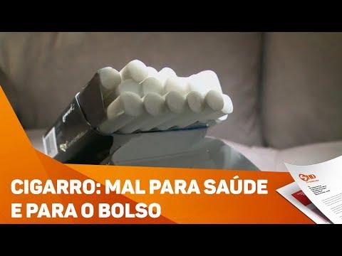 Cigarro: mal para saúde e para o bolso - TV SOROCABA/SBT
