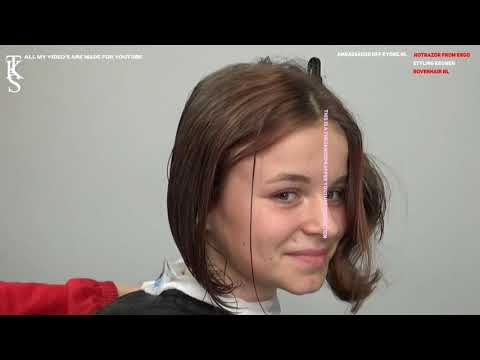 I love to get a nice cut and colored BOB hairstyle. Tutorial with Teun by TKS