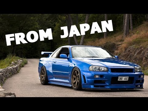 I tried importing an R34 Skyline...