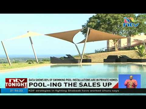Data shows 80% of swimming pool installations are in private homes