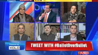 The Newshour Debate: Jammu and Kashmir Chooses Democracy - Part 1 (25th Nov 2014)