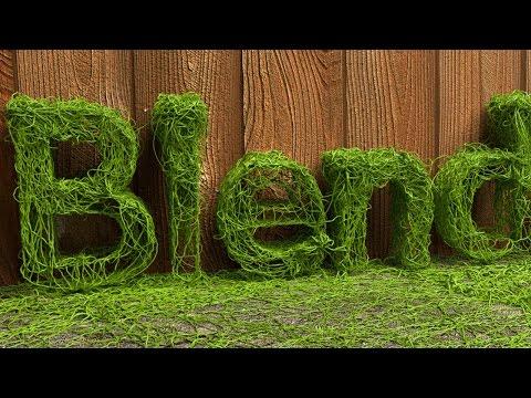 Blender Tutorial: Vine Animation Text