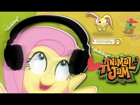 Fluttershy plays Animal Jam 🍉 | SO MANY WONDERS!